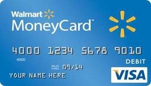 Walmart MoneyCard Prepaid Visa Debit Card