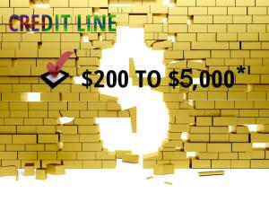 Open Sky Secured Visa Credit Card - Credit Line of $200-$5,000*