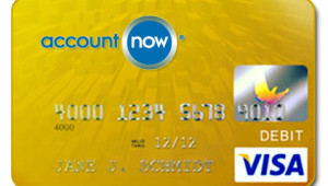 AccountNow.com Gold Visa Prepaid Debit Card