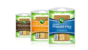 Green Dot Reloadable Prepaid Debit Card