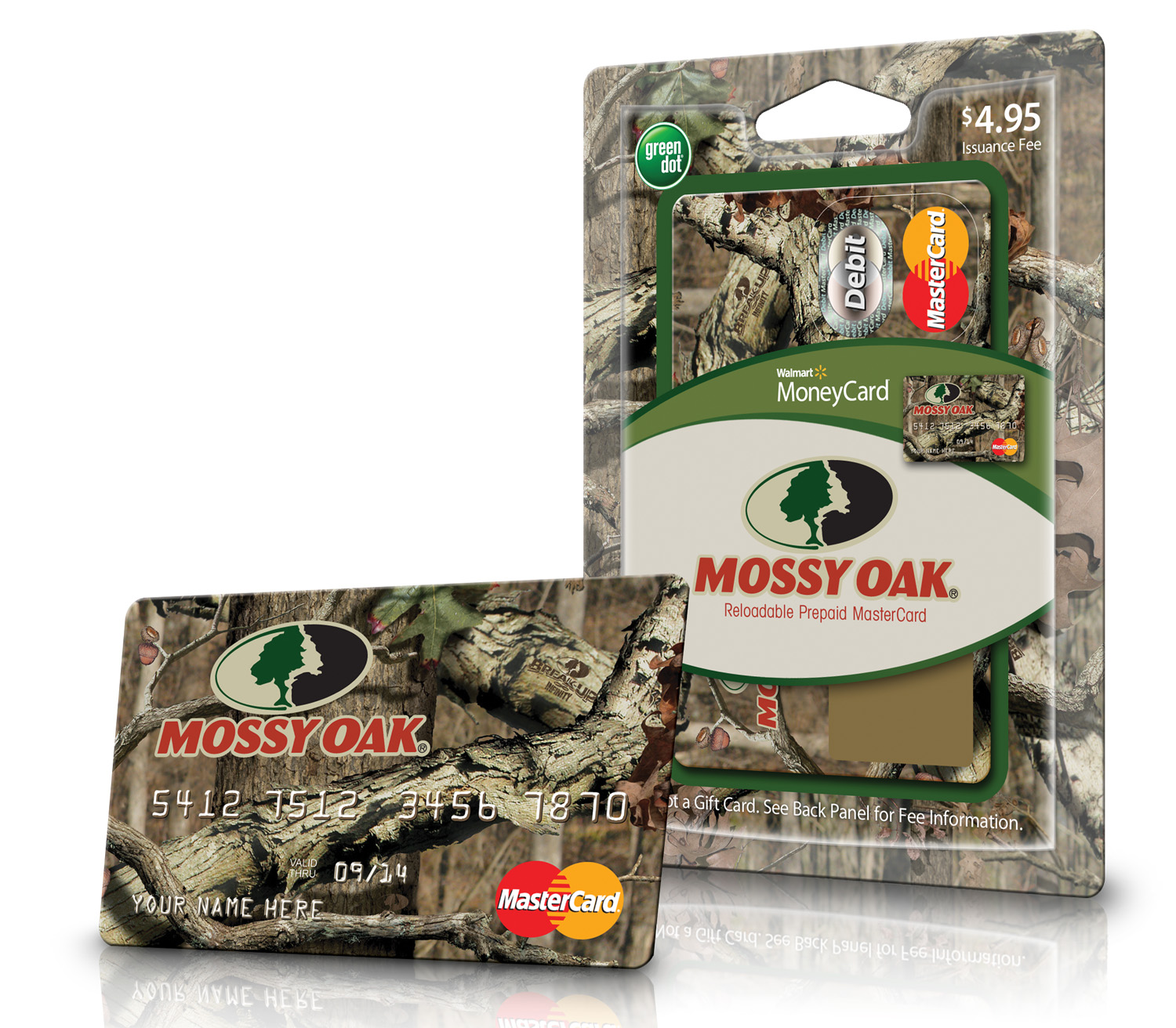 mossy oak prepaid debit moneycard walmart - Visa Money Card