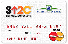 Fifth Third Bank's New 'Stand Up to Cancer' Debit Card Offering Drives Funding for Cancer Research
