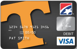 First Tennessee Bank Introduces Its New Debit Card for UT Vols Fans