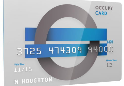 The Occupy Prepaid Debit Card Announces Fees