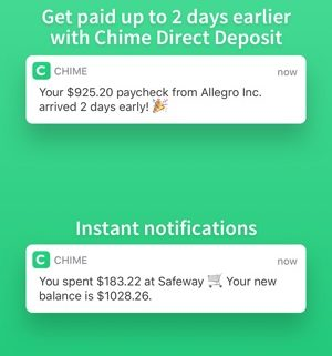 Chime Bank $50 Refer a Friend Cash Bonus- Earn $500 Income (Review 8