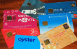Group of smart cards / EMV chip cards from around the world.
