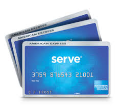 American Express Serve Cards