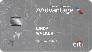 Citi AAdvantage Platinum Select MasterCard