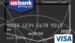 US Bank Convenient Cash Card