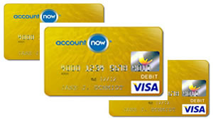 account now card rating - Gold Visa Prepaid Card