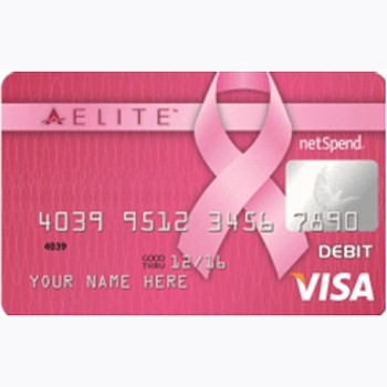 Pink ACE Elite Visa Prepaid Card