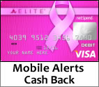 Click here to apply for the Pink Ace Elite card and support a great cause.