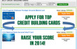 Raise Your Credit Score in 2014