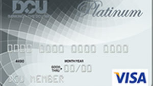 DCU Visa Platinum Secured Credit Card