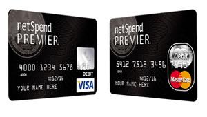 cartões Netspend premier visto pré-pagos