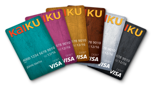 kaiku visa card rating - Kaiku Visa Prepaid Card