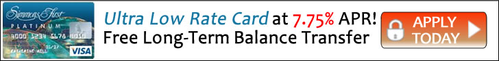 Transfer a Balance for the Life of the Balance at an Ultra Low Rate of 7.75% with the Simmons Bank Platinum Card - No Balance Transfer Fee!